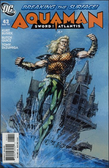 Aquaman: Sword of Atlantis 43-A by DC