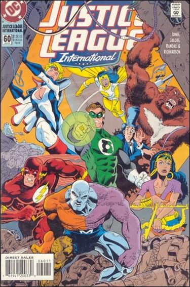 Justice League International (1993)  60-A by DC