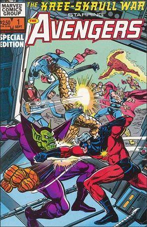 Kree-Skrull War Starring The Avengers 1-A