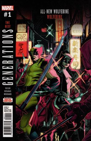 Generations: Wolverine & All-New Wolverine 1-A