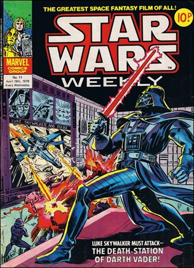 Star Wars Weekly (UK) 11-A by Marvel UK