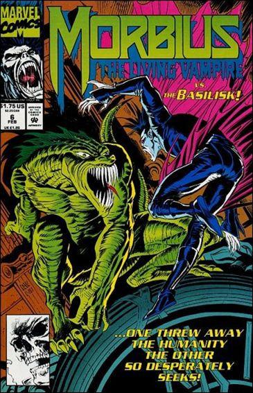 Morbius: The Living Vampire (1992) 6-A by Marvel