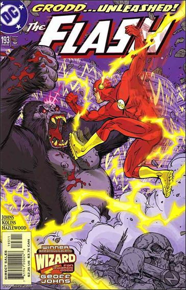 Flash (1987) 193-A by DC
