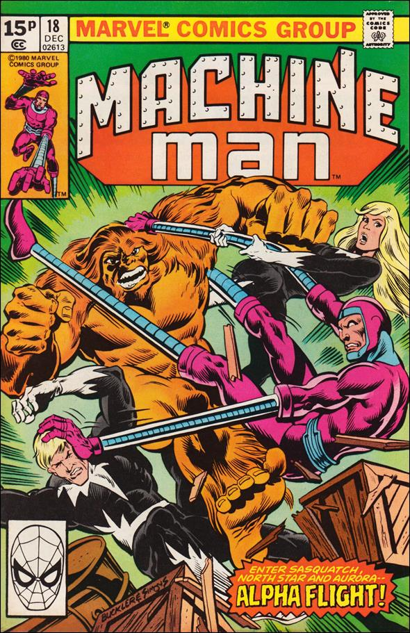 Machine Man (1978) 18-B by Marvel