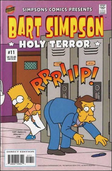 Simpsons Comics Presents Bart Simpson 11-A by Bongo