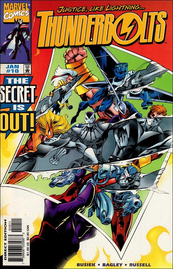 Thunderbolts (1997) 10-A by Marvel