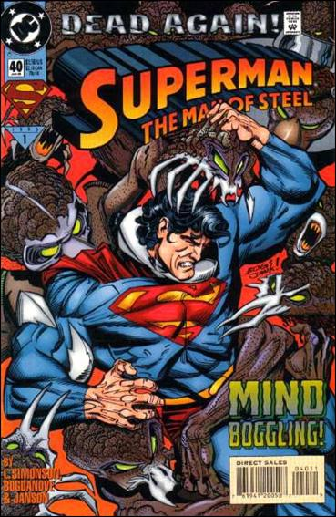 Superman: The Man of Steel 40-A by DC