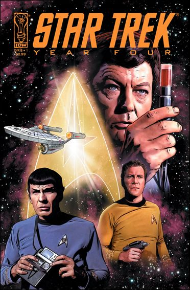 Star Trek: Year Four 1-A by IDW