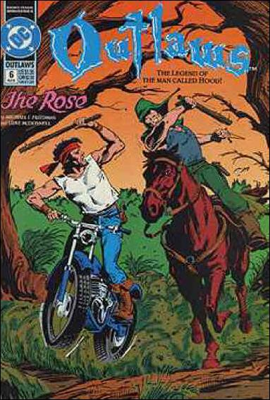 Outlaws (1991) 6-A by DC