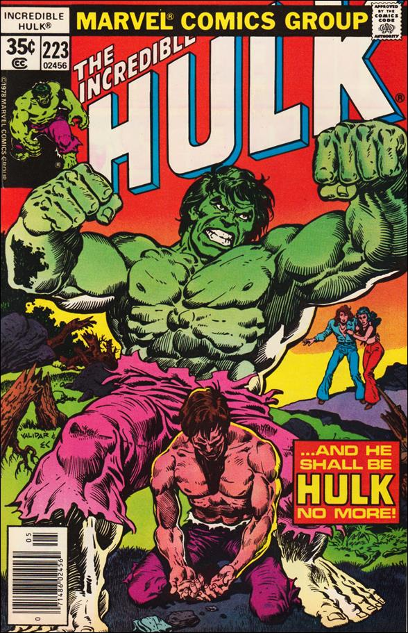 Incredible Hulk (1968) 223-A by Marvel