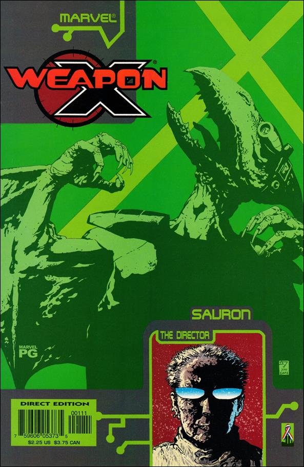 Weapon X: The Draft - Sauron 1-A by Marvel