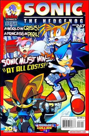 Sonic the Hedgehog (1993) 247-A by Archie