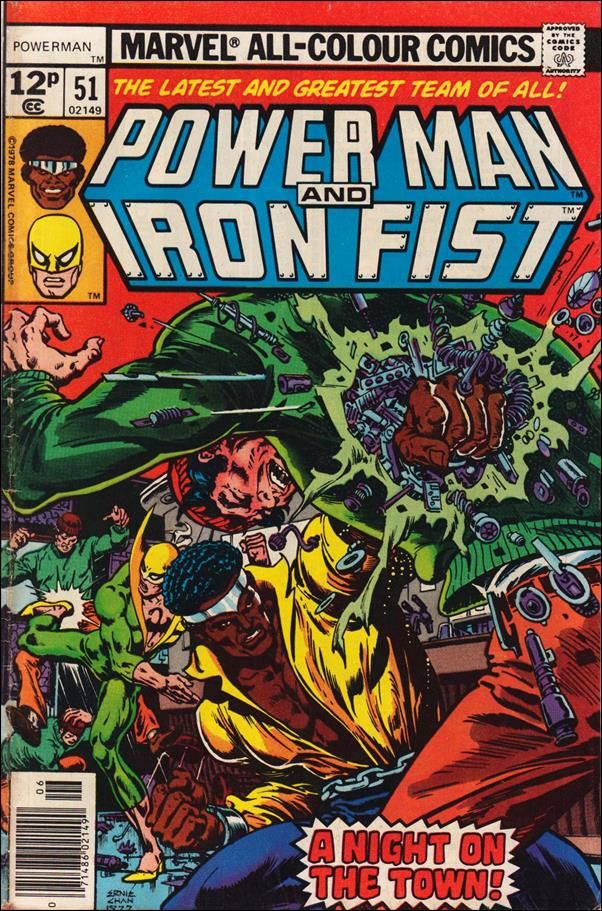 Power Man and Iron Fist (1978) 51-B by Marvel