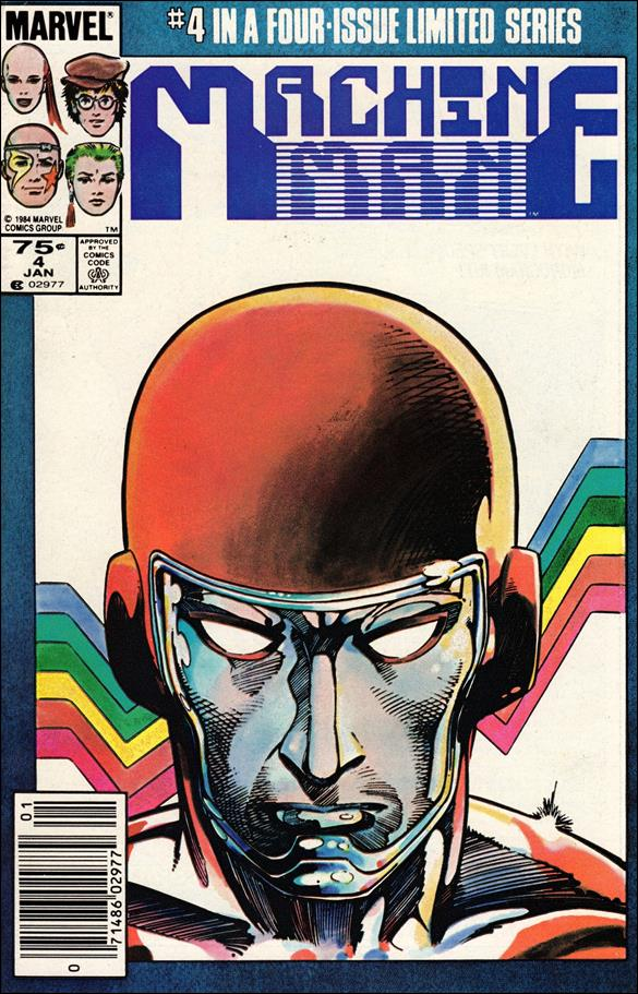 Machine Man (1984) 4-A by Marvel