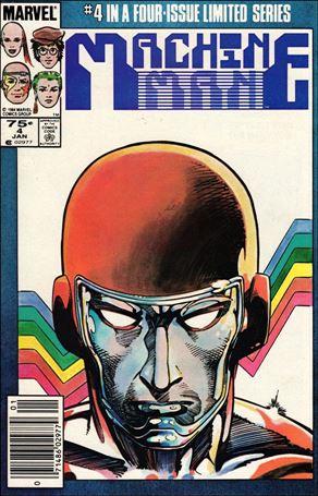 Machine Man (1984) 4-A