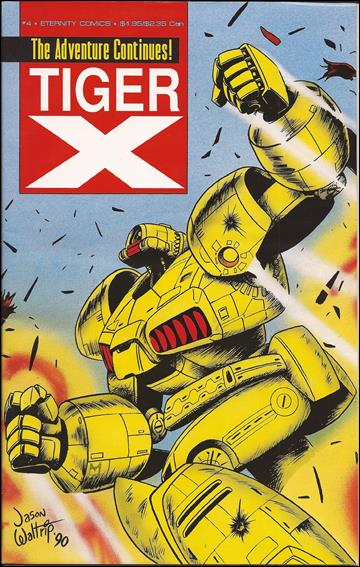 Tiger-X Book II 4-A by Eternity