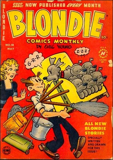 Blondie Comics (1950) 18-A by Harvey