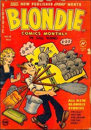 Blondie Comics (1950) 18-A