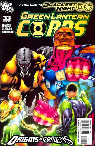 Green Lantern Corps (2006) 33-A by DC
