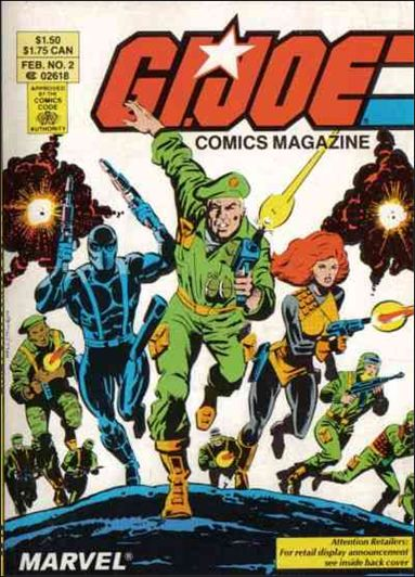 G.I. Joe: Comics Magazine 2-A by Marvel