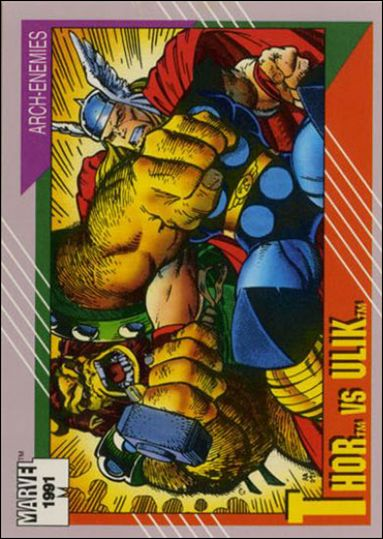 Marvel Universe: Series 2 (Base Set) 122-A by Impel