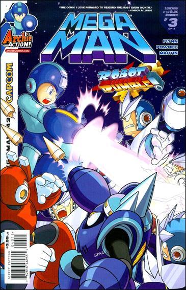 Mega Man 43-A by Archie