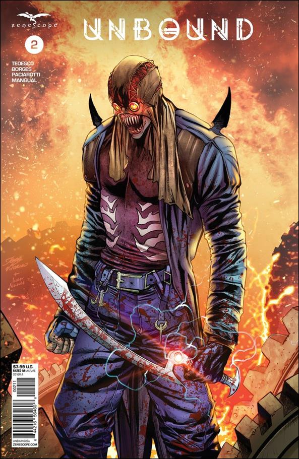 Unbound (2019) 2-A by Zenescope Entertainment