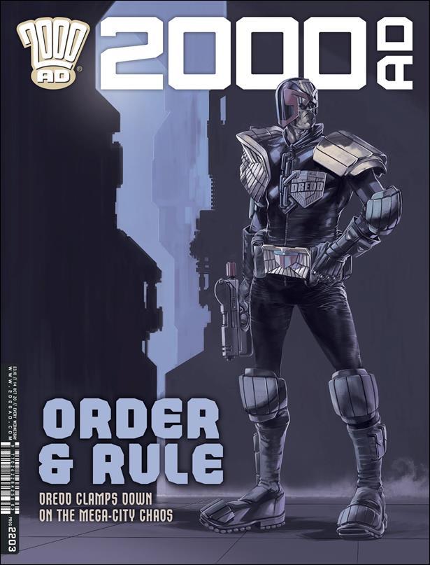 2000 A.D. (UK) 2203-A by Rebellion
