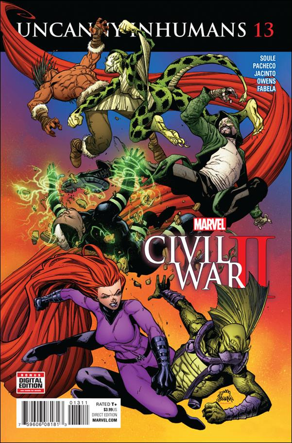 Uncanny Inhumans 13-A by Marvel