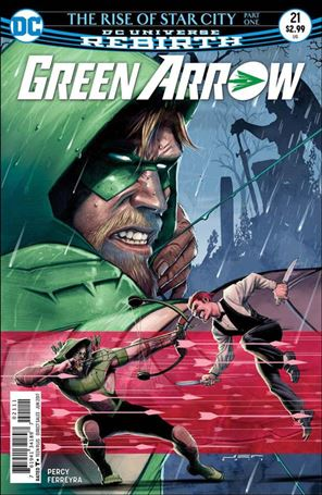 Green Arrow (2016) 21-A