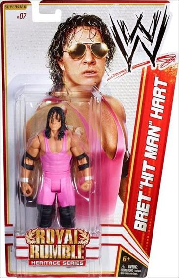 "WWE Superstars (2012) Bret ""Hit Man"" Hart by Mattel"