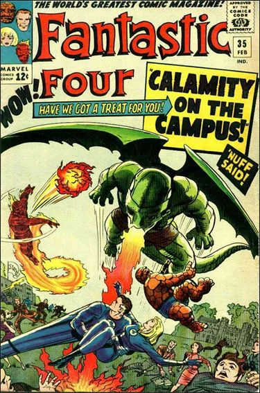 Fantastic Four (1961) 35-A by Marvel