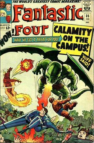Fantastic Four (1961) 35-A