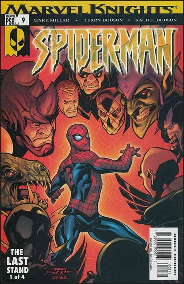 Marvel Knights Spider-Man (2004)  9-A by Marvel