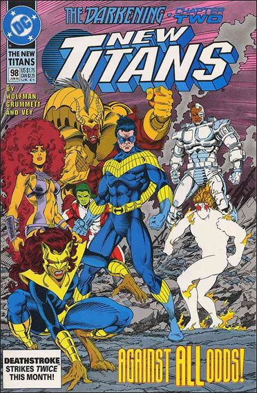 New Titans 98-A by DC
