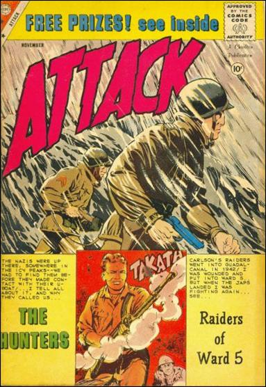 Attack (1958) 60-A by Charlton