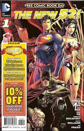 DC Comics - The New 52 FCBD Special Edition 1-B