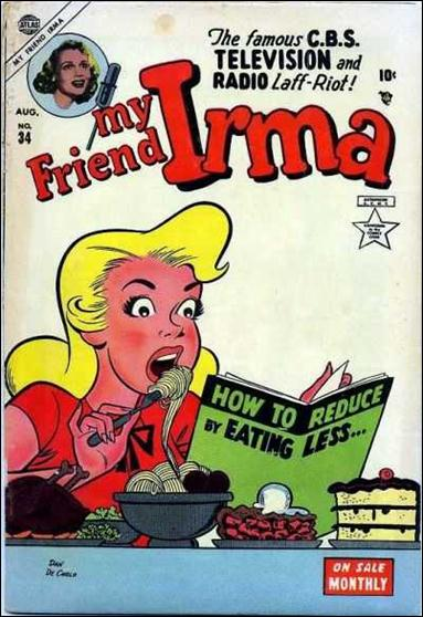 My Friend Irma 34-A by Marvel