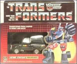 Transformers: More Than Meets the Eye (Generation 1) Traibreaker (Autobot Strategist) by Hasbro