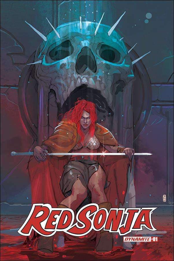 Red Sonja (2019) 1-C by Dynamite Entertainment