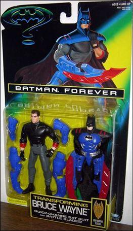 Batman Forever Tranforming Bruce Wayne