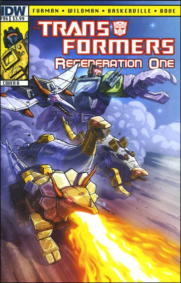 Transformers: Regeneration One 86-A by IDW