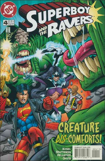 Superboy & The Ravers 4-A by DC