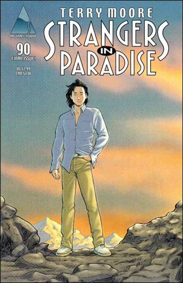 Terry Moore's Strangers in Paradise 90-C by Abstract Studio