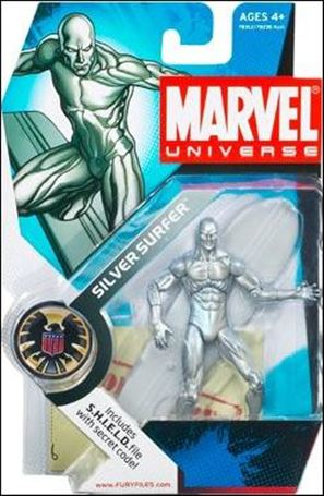 Marvel Universe (Series 1) Silver Surfer