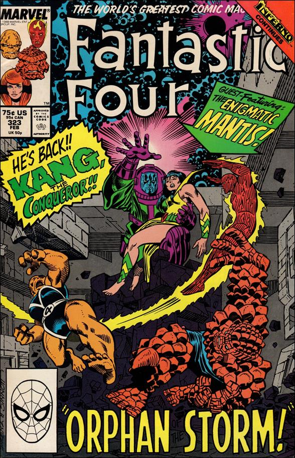 Fantastic Four (1961) 323-A by Marvel