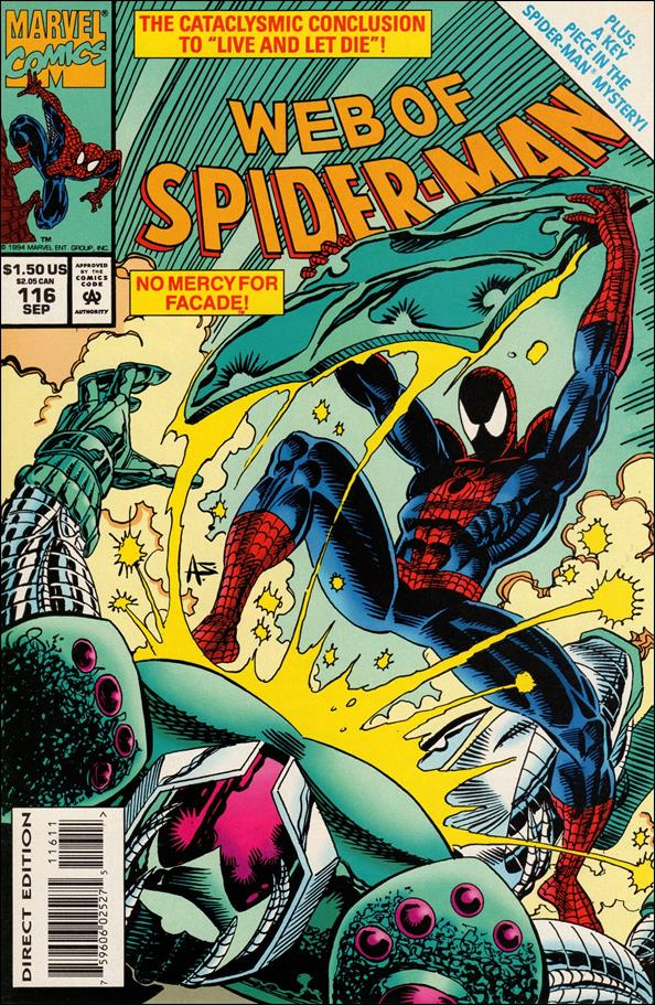 Web of Spider-Man (1985) 116-A by Marvel
