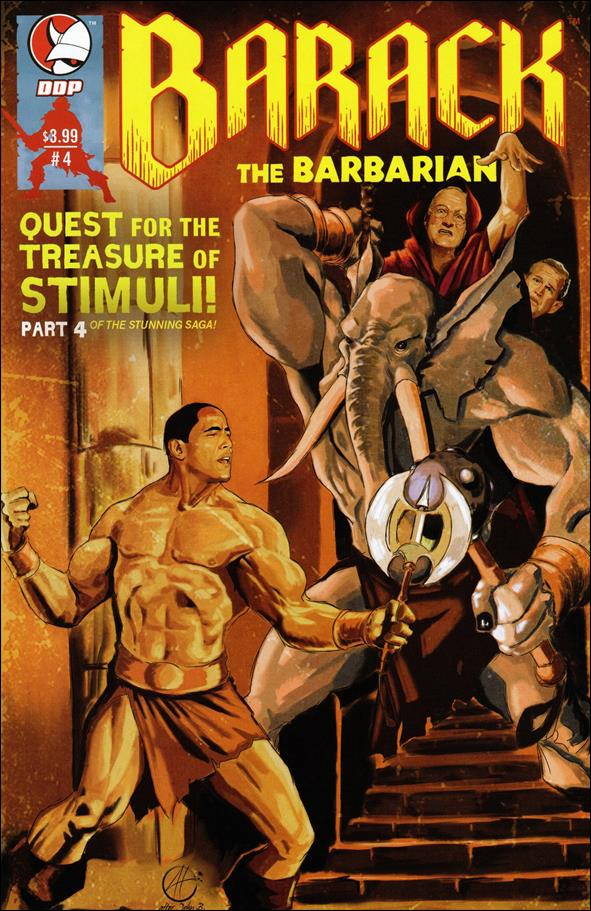 Barack the Barbarian: Quest for the Treasure of Stimuli  4-A by Devil's Due