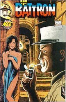 Battron 1-A by New England Comics Press (NEC / NECP)
