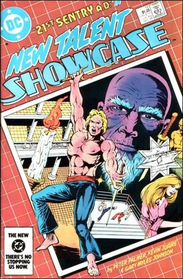 New Talent Showcase (1984) 12-A by DC